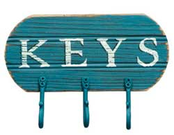 Keys Hook Board