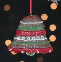 Bell Cookie Ornament