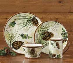 Walk in the Woods Dinner Plates (Set of 4)