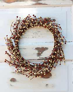 Harvest Mix Berry Wreath (16 inch)