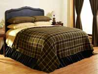 Tea Cabin Coverlet - King Size