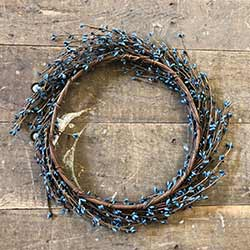 Blue Pip Berry Wreath (16 inch)