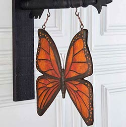 Orange and Black Butterfly Arrow Replacement