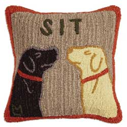 Sit Hooked Pillow