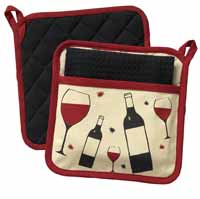 Cheers Pot Holder Set