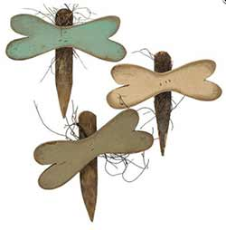Dragonfly Wall Decor (Set of 3)