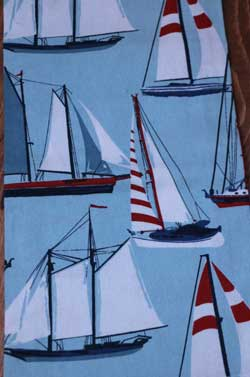 Sailing Dishtowel