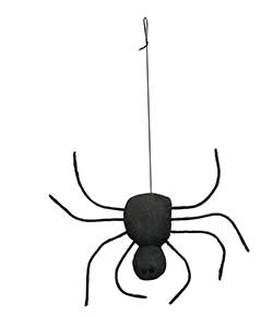 Fabric Spooky Spider Ornament