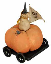 Primitives By Kathy October 31 Pumpkin Carriage