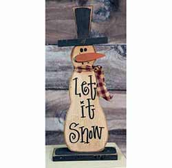Skinny Let It Snowman Stander