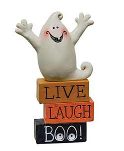 Live Laugh Boo Ghost