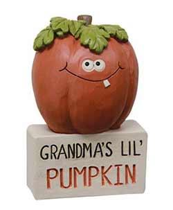Grandma's Lil Pumpkins Block
