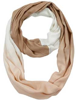Sand Ombre Infinity Scarf