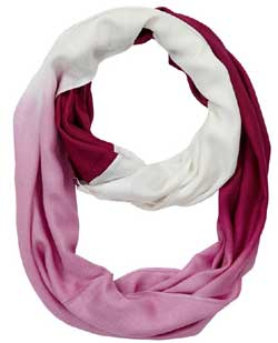 Boysenberry Ombre Infinity Scarf