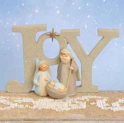 Joy Nativity Figurine