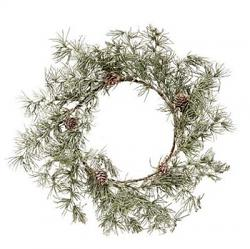 Weeping Pine 7 inch Candle Ring