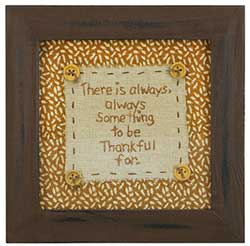 Be Thankful Stitchery
