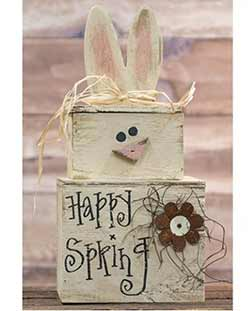 Happy Spring Bunny Stacker