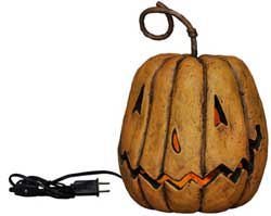 Grinning Pumpkin Head - Lighted Tall (Small)