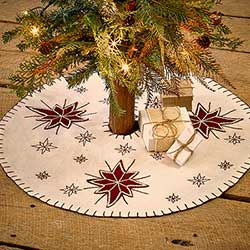 North Star Tree Skirt - Mini