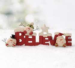 Believe with Snowball Men