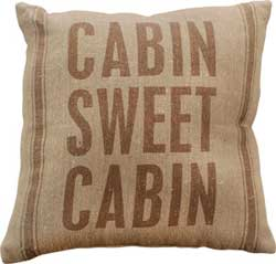 Sweet Cabin Pillow