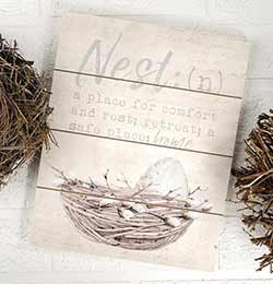 Nest Definition Wall Art