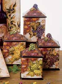 Wine Cellar Dinnerware - Canister