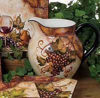 Wine Cellar Dinnerware - Pitcher