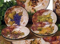 Wine Cellar Dinnerware - Pasta Bowl