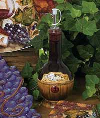 Wine Cellar Dinnerware - Olive Oil Bottle