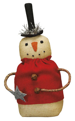 Red Sweater Snowman