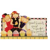 Good Friends Message Bar/Plaque