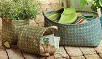 Trellis Jute Basket