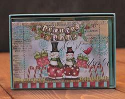 Snowman Friends Artisan Petite Christmas Cards