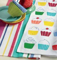 Cupcake Dishtowel