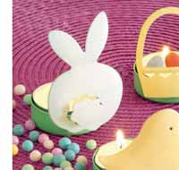 Cottontail Metal Tealight