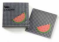 Watermelon Paper Cocktail Napkins
