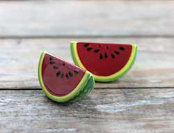 Watermelon Salt/Pepper Shaker Set