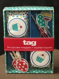 Party Cupcake Decorating Kit