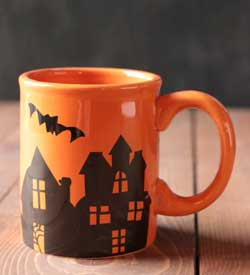 Spooky Party Mug - Orange
