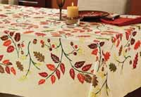 TAG Fall Leaf Tablecloth