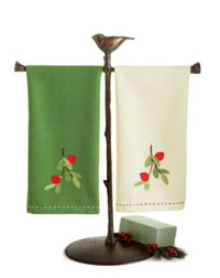 Cranberries Jardin Guest Towel
