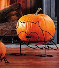 Owl Pumpkin Stand, Large