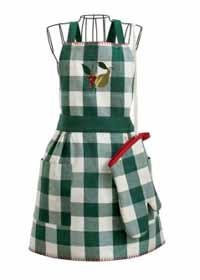 Harvest Market Apron and Mitt Set