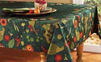 TAG Harvest Market Tablecloth - 60 x 84 inches