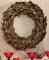 Chalet Berry Wreath