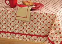 Chalet Diamond Tablecloth