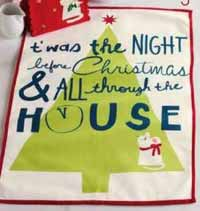 TAG Twas the Night Dishtowel