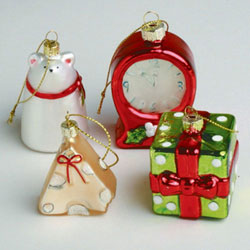 Twas the Night Ornaments (Set of 4)